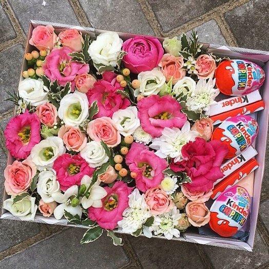 Киндер+Цветы: букеты цветов на заказ Flowwow