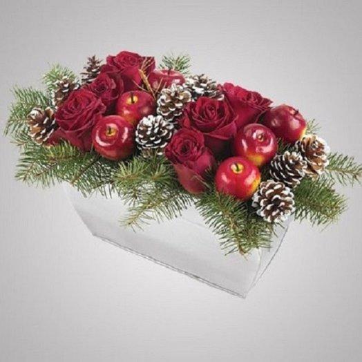 Wonderful winter bouquet