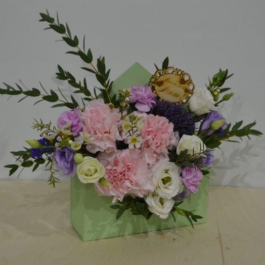 """Цветочное послание """"Нежность"""": букеты цветов на заказ Flowwow"""