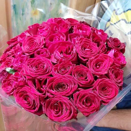 51 роза 70см: букеты цветов на заказ Flowwow