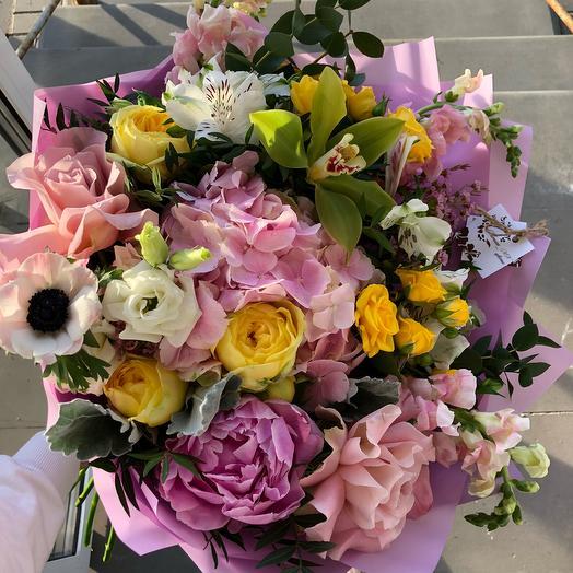 Большое розовое облако: букеты цветов на заказ Flowwow