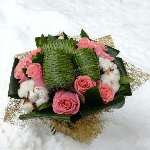 Первый снег (Букет 94): букеты цветов на заказ Flowwow