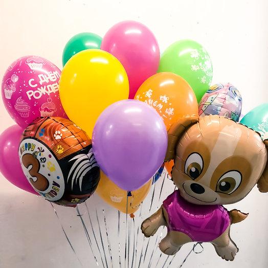 Сет из шариков «Яркий праздник»