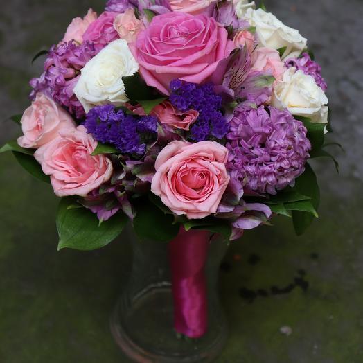 Букет невесты Вайлет: букеты цветов на заказ Flowwow