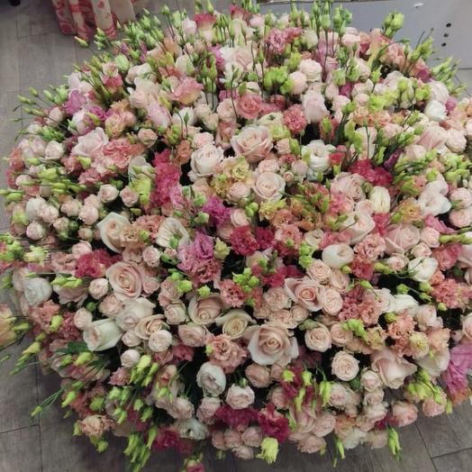 Счастливая: букеты цветов на заказ Flowwow