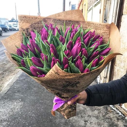 Violet: букеты цветов на заказ Flowwow