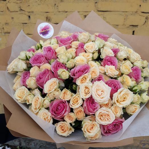 Букет мира: букеты цветов на заказ Flowwow
