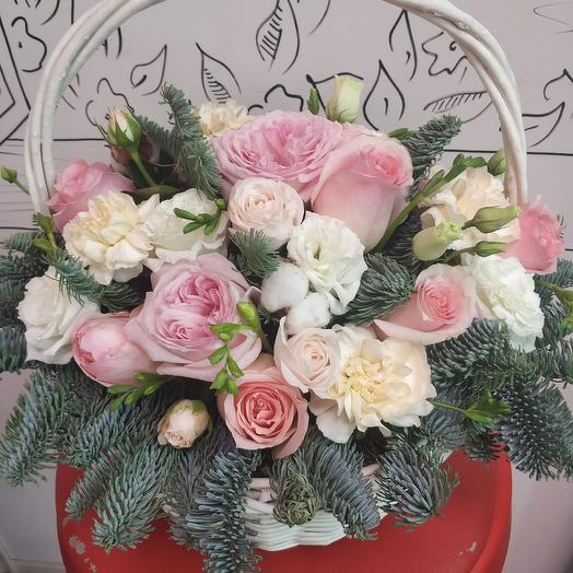 Зимняя нежность: букеты цветов на заказ Flowwow