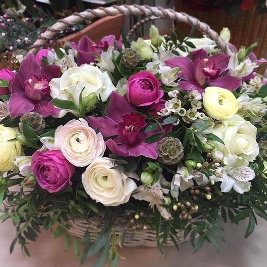 Ранункулюс: букеты цветов на заказ Flowwow
