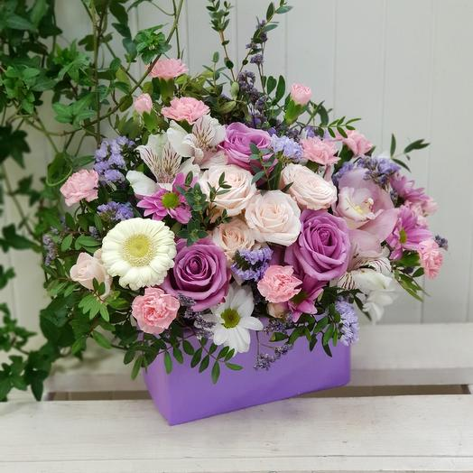 Конвертик цветов: букеты цветов на заказ Flowwow