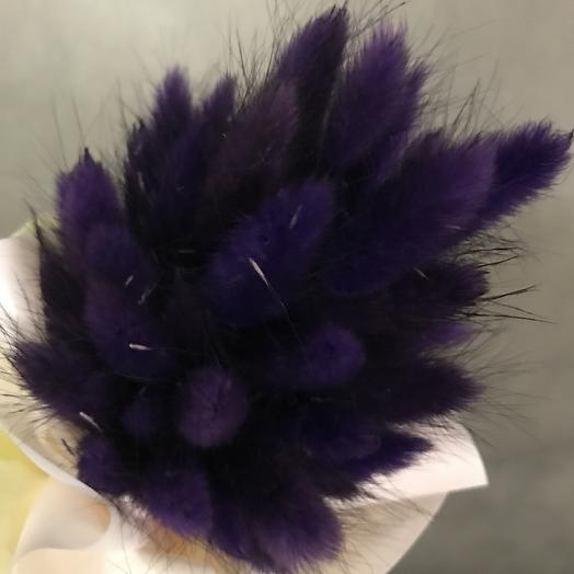 Пушистик фиолет: букеты цветов на заказ Flowwow