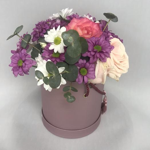Коробка «минор»: букеты цветов на заказ Flowwow