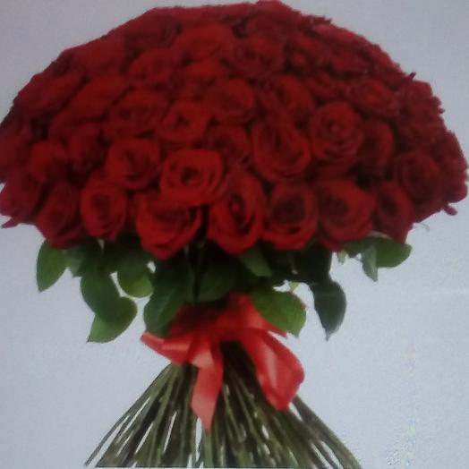 Пылкая страсть: букеты цветов на заказ Flowwow