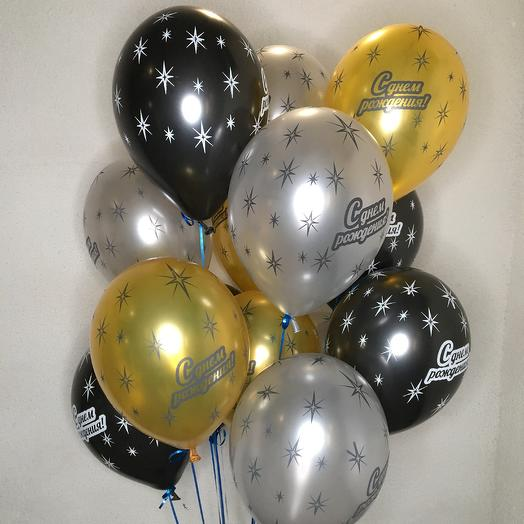 Фонтан из 15 Шаров с днём рождения: букеты цветов на заказ Flowwow