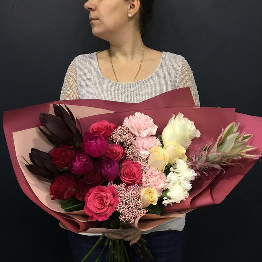 Элизабет: букеты цветов на заказ Flowwow