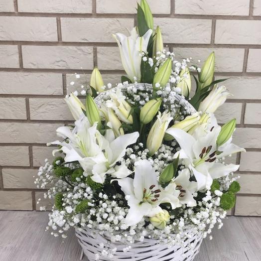 Лилия-5: букеты цветов на заказ Flowwow