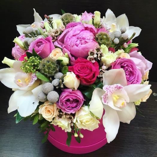 """Композиция """" Бабл Гам"""": букеты цветов на заказ Flowwow"""