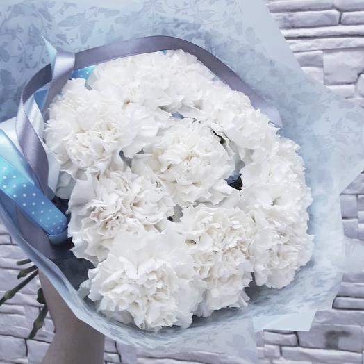 Белое облачко: букеты цветов на заказ Flowwow