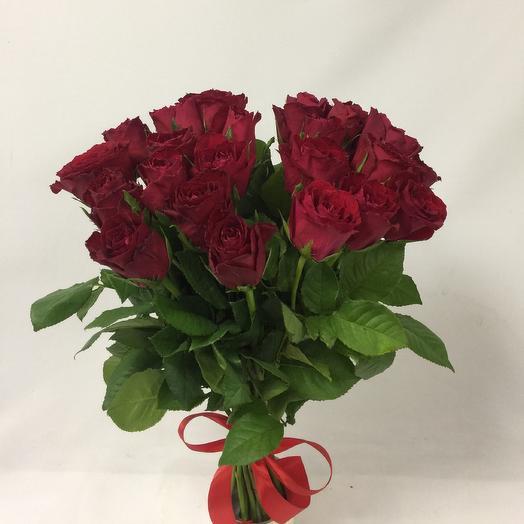 25 роз Кения: букеты цветов на заказ Flowwow