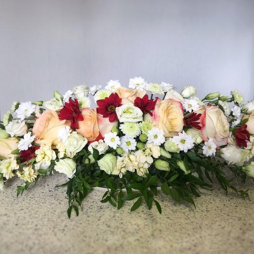 Композиция для президиума: букеты цветов на заказ Flowwow