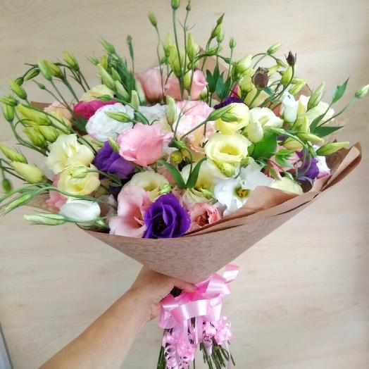 """Букет из лизиантусов""""Тонкие чувства"""": букеты цветов на заказ Flowwow"""