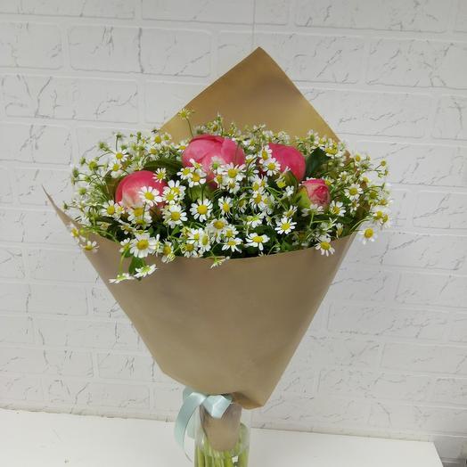 Букет полевой: букеты цветов на заказ Flowwow