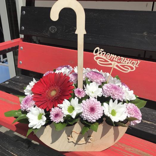 Цветочный зонтик: букеты цветов на заказ Flowwow