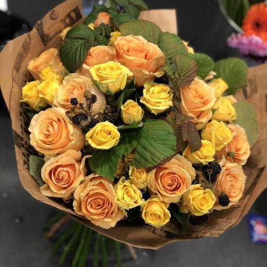 Счастье из роз