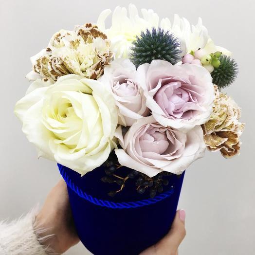 Королевская коробка: букеты цветов на заказ Flowwow