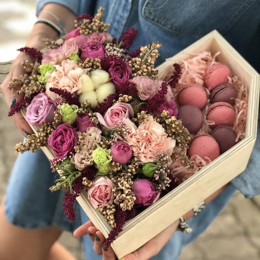 Сердце амура: букеты цветов на заказ Flowwow