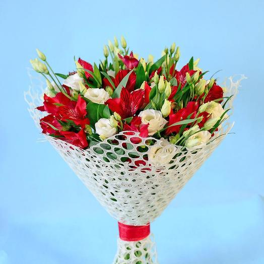 """Букет """"Багровый свет"""": букеты цветов на заказ Flowwow"""