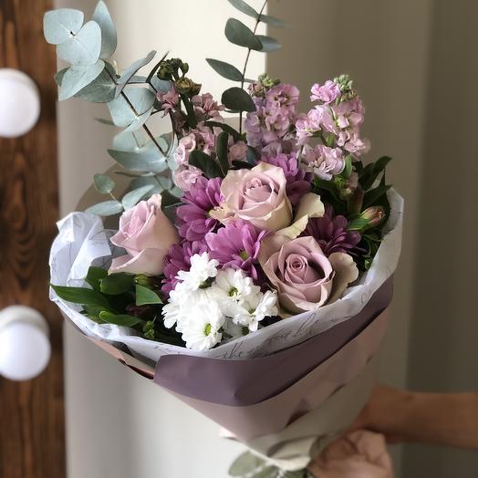Букет «Вайлет»: букеты цветов на заказ Flowwow
