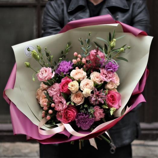 Черничный Чарльз: букеты цветов на заказ Flowwow