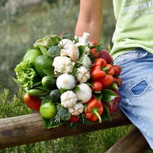 Овощной микс: букеты цветов на заказ Flowwow
