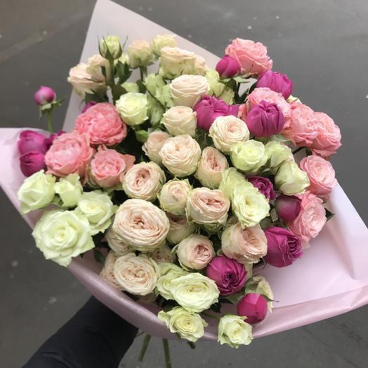 Кустовая любовь ️: букеты цветов на заказ Flowwow