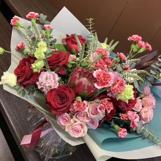 Букет пряность: букеты цветов на заказ Flowwow
