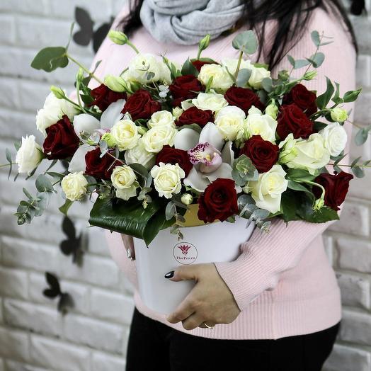Парижская история: букеты цветов на заказ Flowwow
