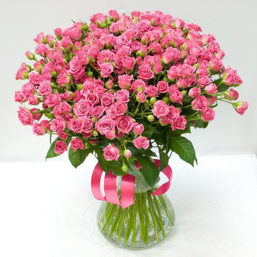Букет из кустовых роз Лав Лидия: букеты цветов на заказ Flowwow