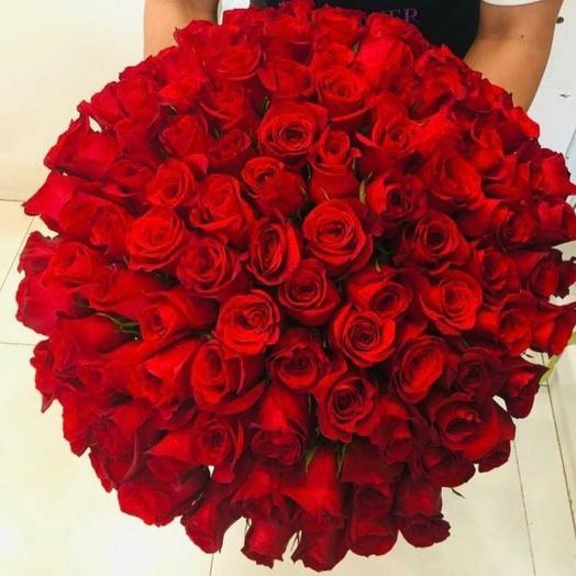 101роза: букеты цветов на заказ Flowwow
