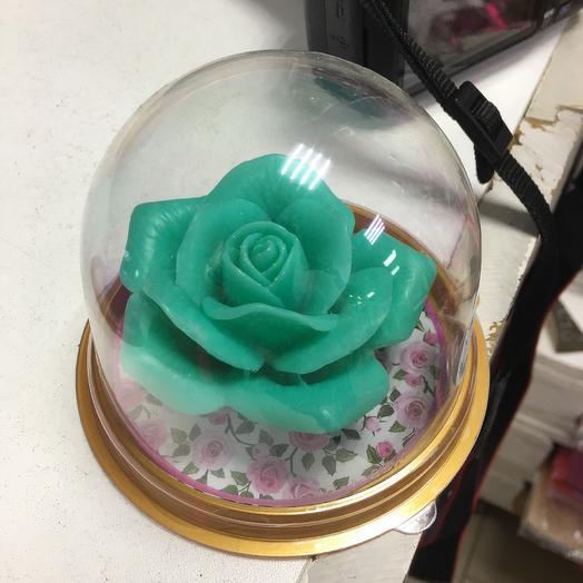 Мыльная роза 🌹 в колбе