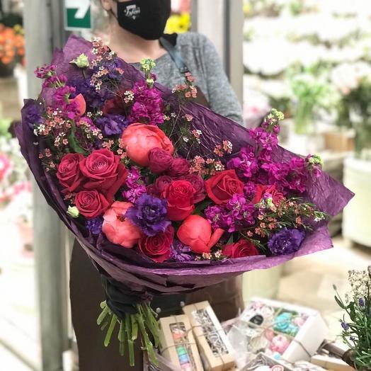 Симона: букеты цветов на заказ Flowwow
