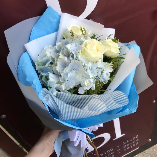 Blue sky: букеты цветов на заказ Flowwow