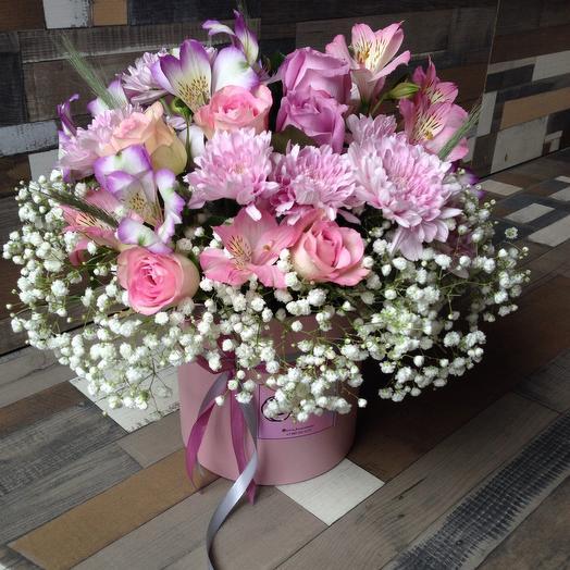 Нежная малинка: букеты цветов на заказ Flowwow
