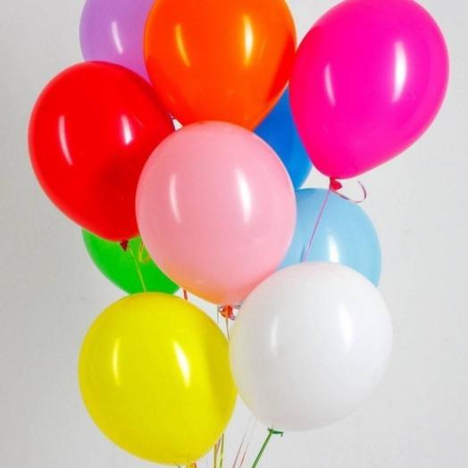 10 шаров: букеты цветов на заказ Flowwow