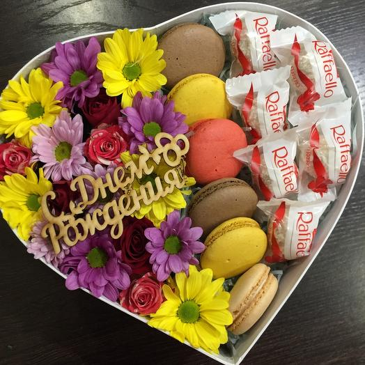 Macaroons in the heart 5517