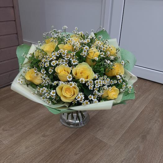 Bouquet with chamomile 😍 😍 😍
