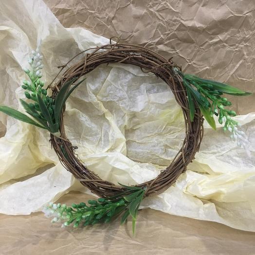 Декоративное украшение «венок»