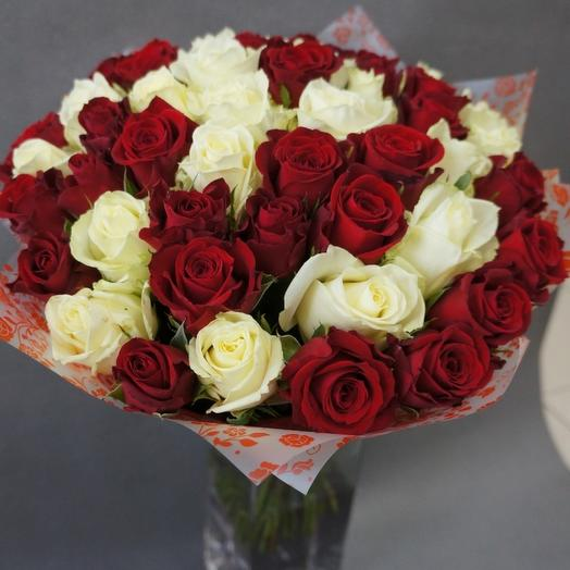 Букет,микс 51 роза
