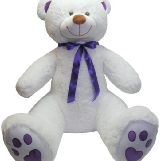 Мишка 190 см  «Граф Виолетт» белый