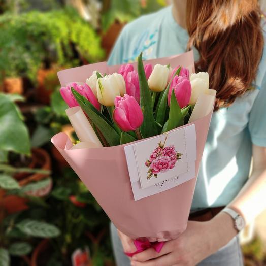Элитные тюльпаны. Нежность